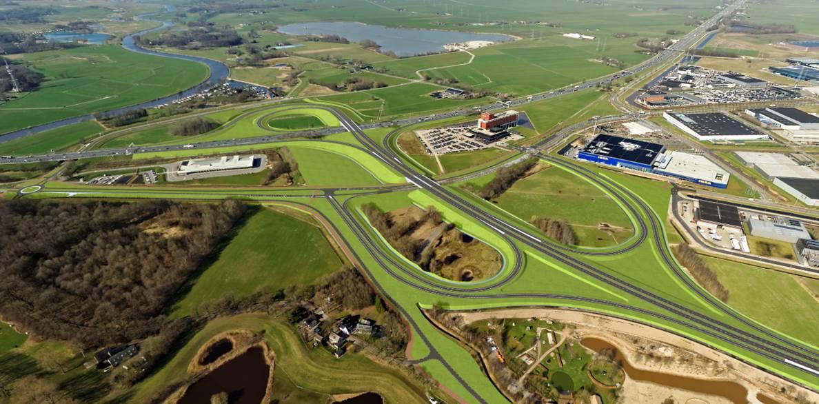 aansluiting A28 - Kempkes Landmeten